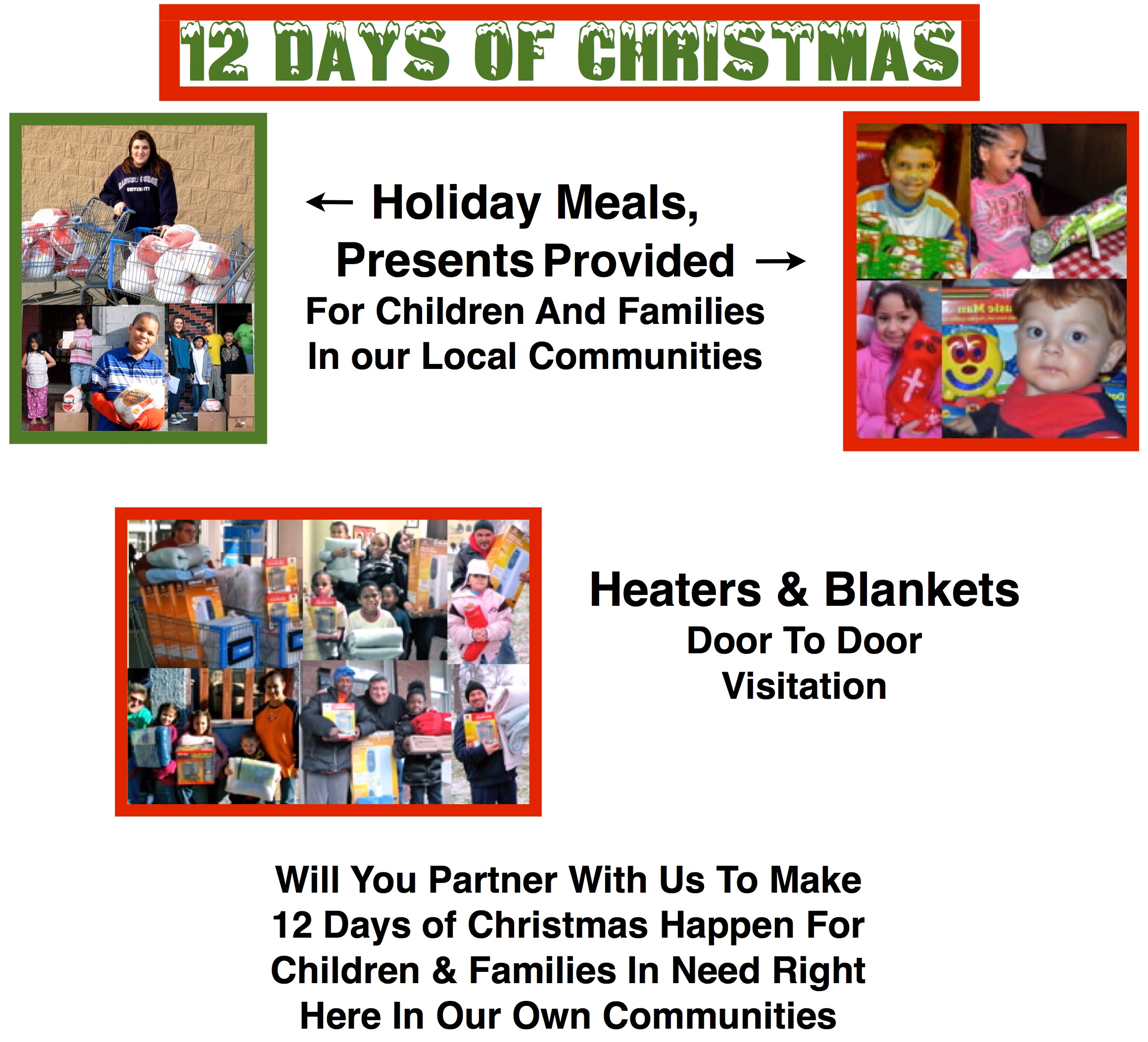 12 Days of Christmas Giving